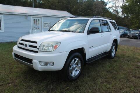 2003 Toyota 4Runner for sale at Manny's Auto Sales in Winslow NJ