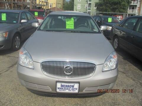 2006 Buick Lucerne for sale at MERROW WHOLESALE AUTO in Manchester NH