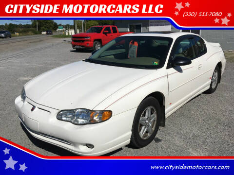 2004 Chevrolet Monte Carlo for sale at CITYSIDE MOTORCARS LLC in Canfield OH