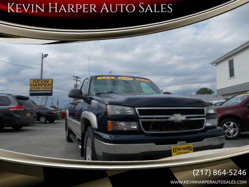 2007 Chevrolet Silverado 1500 Classic for sale at Kevin Harper Auto Sales in Mount Zion IL