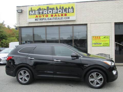 2013 Hyundai Santa Fe for sale at Metropolis Auto Sales in Pelham NH