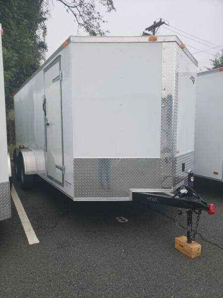 2021 7x16 Standard Enclosed Trailer for sale at Big Daddy's Trailer Sales in Winston Salem NC