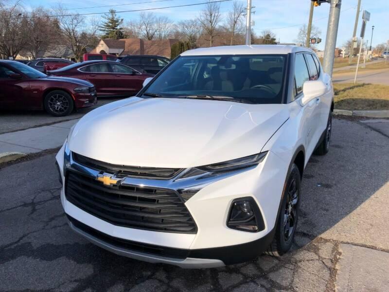 2020 Chevrolet Blazer for sale at One Price Auto in Mount Clemens MI