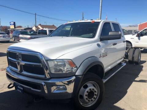 2014 RAM Ram Chassis 5500 for sale at Orem Auto Outlet in Orem UT