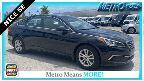2017 Hyundai Sonata for sale at Your First Vehicle in Miami FL