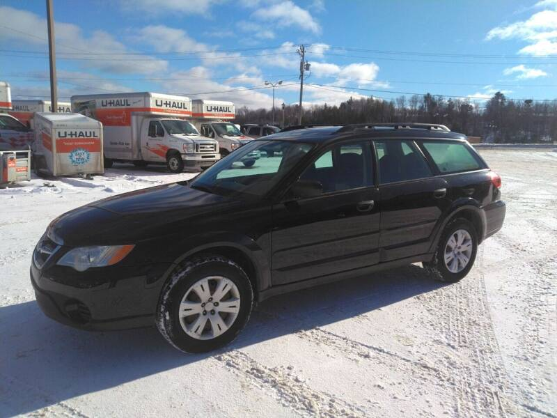 2008 Subaru Outback for sale at Pepp Motors in Marquette MI