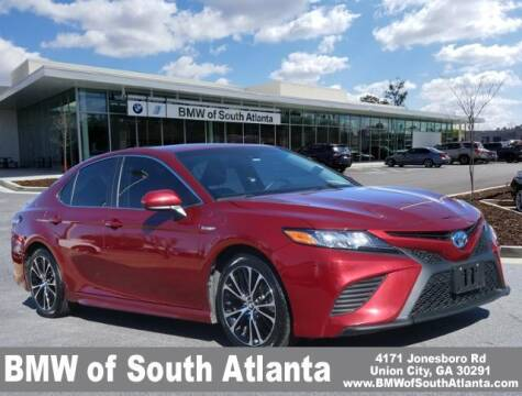 2018 Toyota Camry Hybrid for sale at Carol Benner @ BMW of South Atlanta in Union City GA