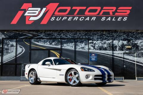 2006 Dodge Viper for sale at BJ Motors in Tomball TX