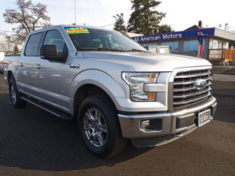 2015 Ford F-150 for sale at All American Motors in Tacoma WA