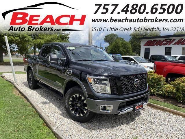2017 Nissan Titan for sale at Beach Auto Brokers in Norfolk VA