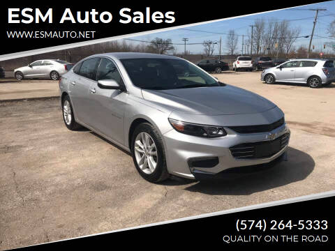2017 Chevrolet Malibu for sale at ESM Auto Sales in Elkhart IN
