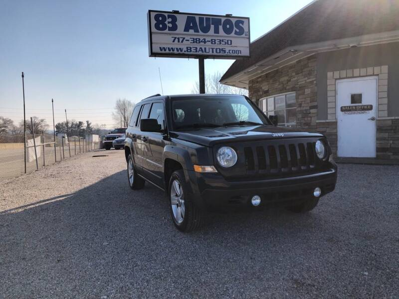 2013 Jeep Patriot for sale at 83 Autos in York PA