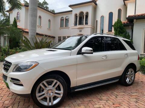 2014 Mercedes-Benz M-Class for sale at Mirabella Motors in Tampa FL