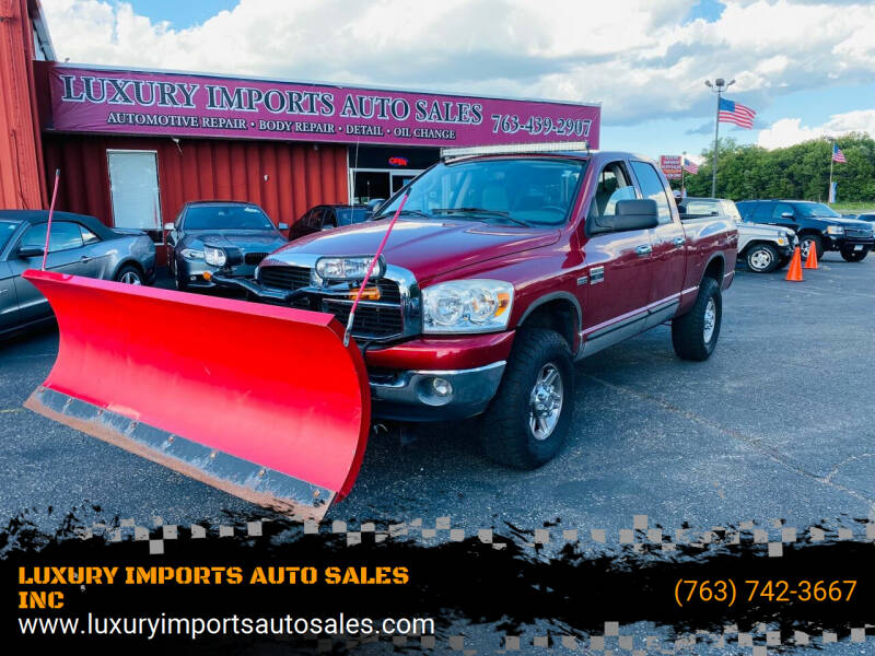 2007 Dodge Ram Pickup 2500 for sale at LUXURY IMPORTS AUTO SALES INC in North Branch MN