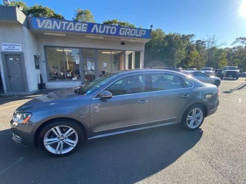 2012 Volkswagen Passat for sale at Vantage Auto Group in Brick NJ