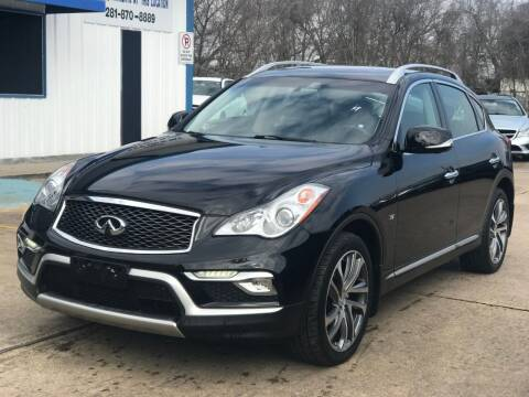 2017 Infiniti QX50 for sale at Discount Auto Company in Houston TX