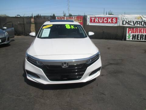2020 Honda Accord for sale at Quick Auto Sales in Modesto CA
