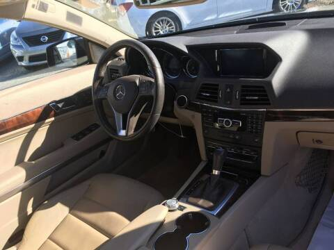 2013 Mercedes-Benz E-Class for sale at Specialty Bank Liquidators in Greensboro NC