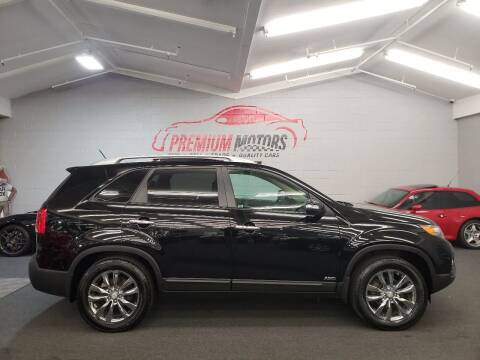 2011 Kia Sorento for sale at Premium Motors in Villa Park IL