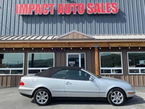 1999 Mercedes-Benz CLK for sale at Impact Auto Sales in Wenatchee WA