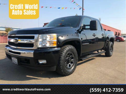 2011 Chevrolet Silverado 1500 for sale at Credit World Auto Sales in Fresno CA