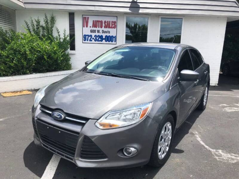 2012 Ford Focus for sale at IV AUTO SALES in Mesquite TX