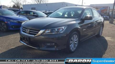 2013 Honda Accord for sale at Baron Super Center in Patchogue NY