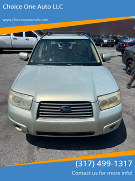 2006 Subaru Forester for sale at Choice One Auto LLC in Beech Grove IN