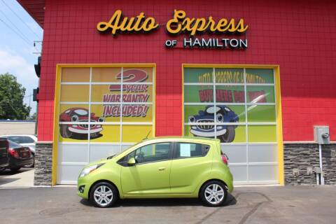 2013 Chevrolet Spark for sale at AUTO EXPRESS OF HAMILTON LLC in Hamilton OH