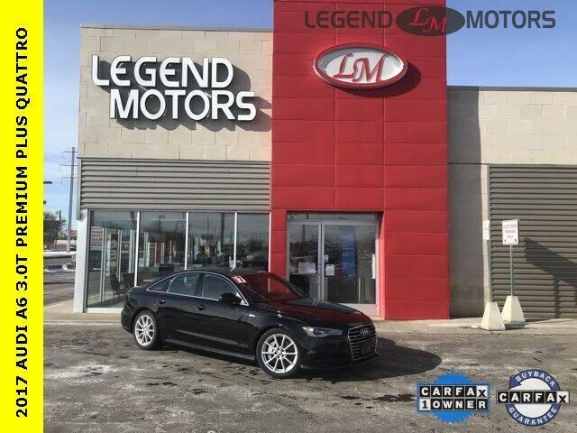 2017 Audi A6 for sale at Legend Motors of Detroit - Legend Motors of Ferndale in Ferndale MI