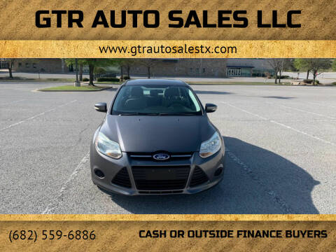2013 Ford Focus for sale at GTR Auto Sales LLC in Haltom City TX