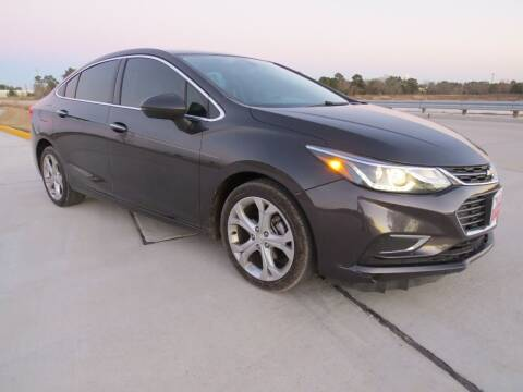 2017 Chevrolet Cruze for sale at Fincher's Texas Best Auto & Truck Sales in Tomball TX