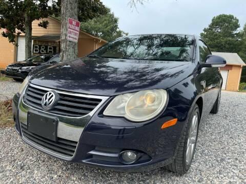 2008 Volkswagen Eos for sale at Efficiency Auto Buyers in Milton GA