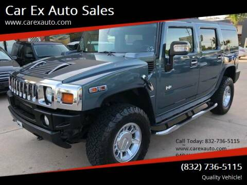 2006 HUMMER H2 for sale at Car Ex Auto Sales in Houston TX