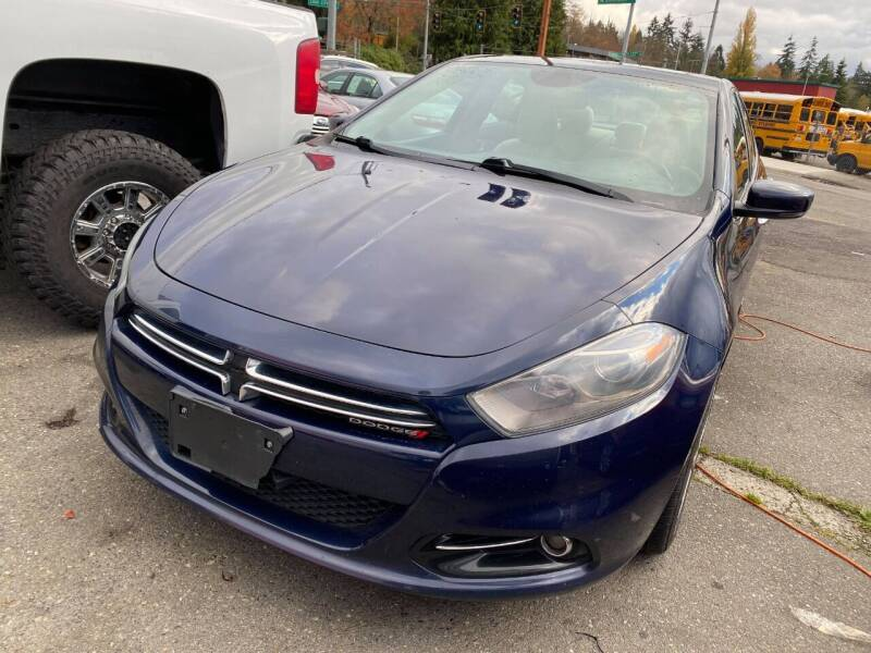 2013 Dodge Dart for sale at SNS AUTO SALES in Seattle WA