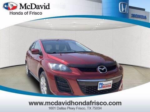 2010 Mazda CX-7 for sale at DAVID McDAVID HONDA OF IRVING in Irving TX