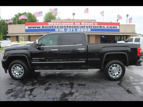 2017 GMC Sierra 2500HD for sale at Kents Custom Cars and Trucks in Collinsville OK