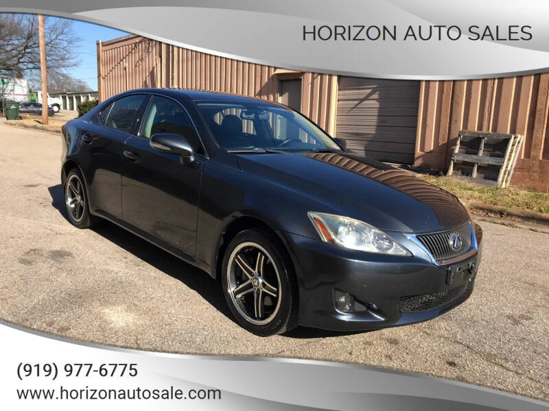 2009 Lexus IS 250 for sale at Horizon Auto Sales in Raleigh NC