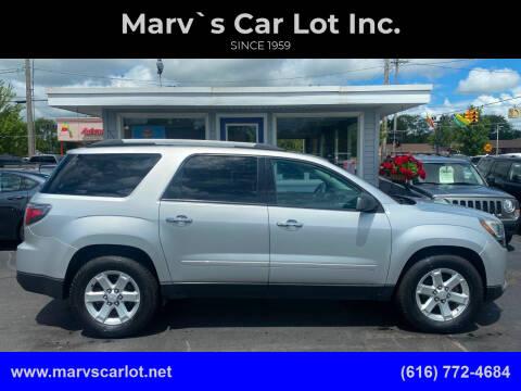 2014 GMC Acadia for sale at Marv`s Car Lot Inc. in Zeeland MI