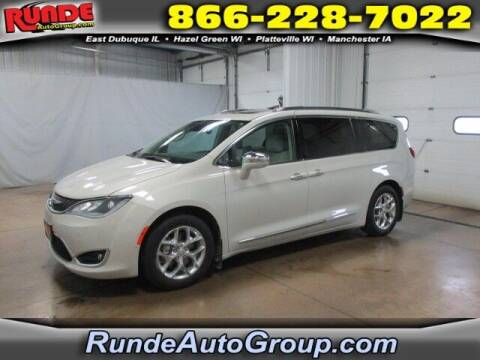 2017 Chrysler Pacifica for sale at Runde PreDriven in Hazel Green WI