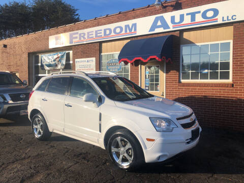 2013 Chevrolet Captiva Sport for sale at FREEDOM AUTO LLC in Wilkesboro NC
