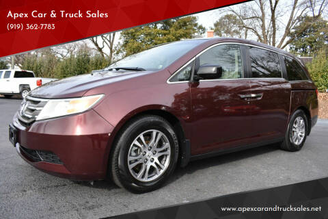 2012 Honda Odyssey for sale at Apex Car & Truck Sales in Apex NC