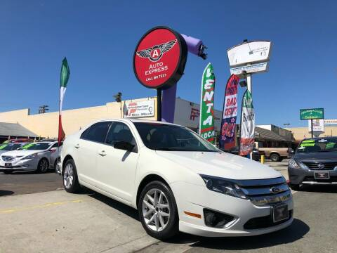 2011 Ford Fusion for sale at Auto Express in Chula Vista CA