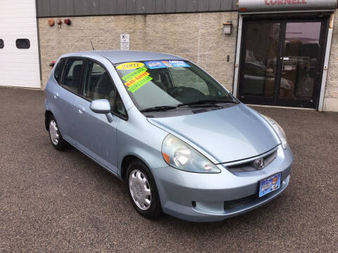 2007 Honda Fit for sale at Adams Street Motor Company LLC in Dorchester MA