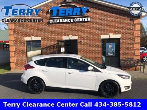 2016 Ford Focus for sale at Terry Clearance Center in Lynchburg VA