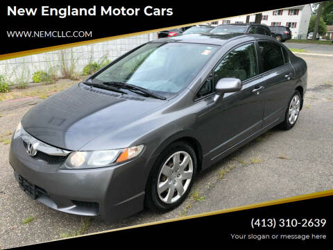 2009 Honda Civic for sale at New England Motor Cars in Springfield MA