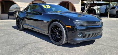 2015 Chevrolet Camaro for sale at FRANCIA MOTORS in El Paso TX
