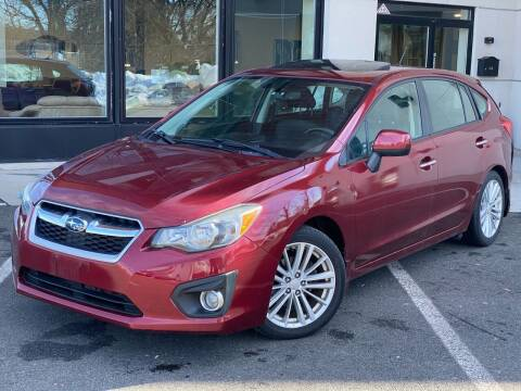 2012 Subaru Impreza for sale at MAGIC AUTO SALES in Little Ferry NJ