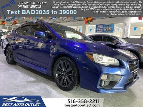 2015 Subaru WRX for sale at Best Auto Outlet in Floral Park NY
