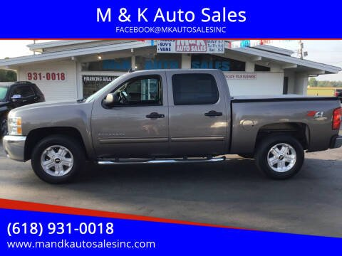 2012 Chevrolet Silverado 1500 for sale at M & K Auto Sales in Granite City IL